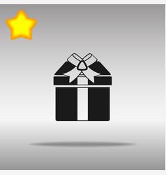Present black icon button logo symbol vector