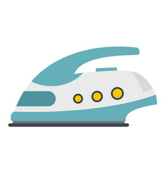modern electric iron icon isolated vector image