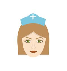 Face nurce icon image vector