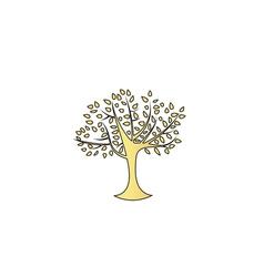 Maple tree computer symbol vector image