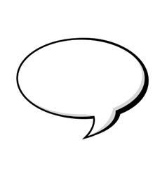 Bubble talk comic vector