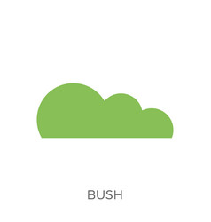 Bush icon vector