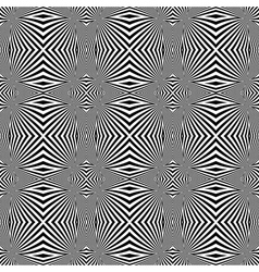 Design seamless monochrome convex lines background vector