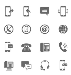 Icon set - communication vector