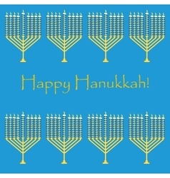 Jewish holiday pattern hanukkah vector