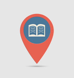 map pin library vector image