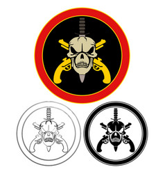 Military special forces symbol vector
