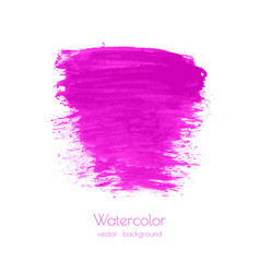 Pink magenta lilac grunge marble watercolor vector