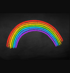Rainbow arc vector