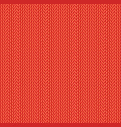 Red wool knitwear texture seamless pattern vector
