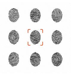 Set individual fingerprints for personal vector