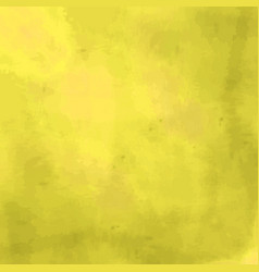 yellow background with a watercolor texture vector image