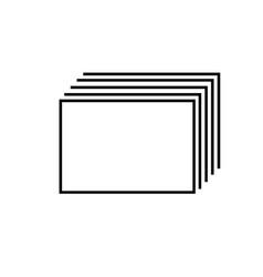 corner tabs icon vector image