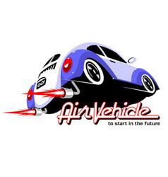 air vehicle vector image