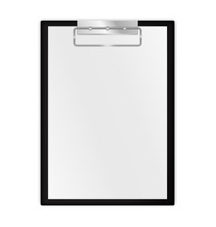 Paper journal blank note pad vector
