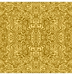 Seamless pattern of gold lines Marbled style The vector
