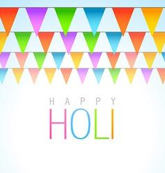 traditional holi festival vector image