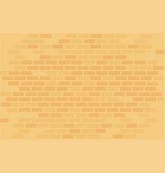 Yellow brick wall vector