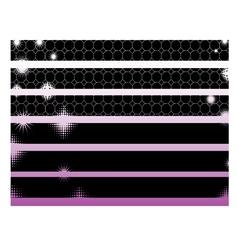 Black Graphic Elements vector image