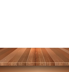 wooden decking on white background 0305 vector image vector image