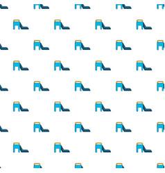 children slide pattern seamless vector image vector image
