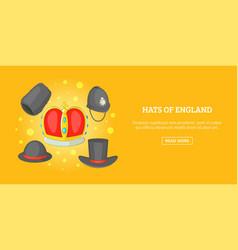 queen symbols banner horizontal cartoon style vector image vector image