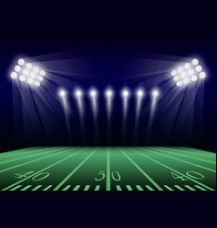 American football field concept background vector