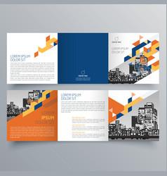 Brochure design 593 vector