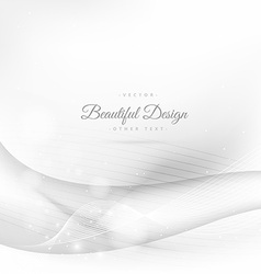 Clean wave background vector