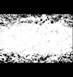 distressed black texture vector image