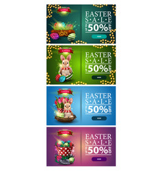 Easter sale up to 50 off large collection vector
