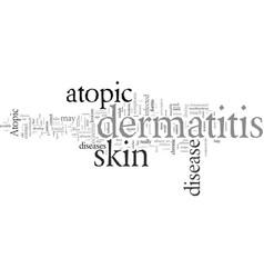 Eczema or atopic dermatitis anyone vector