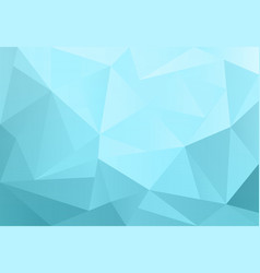 Light blue triangle background design geometric vector