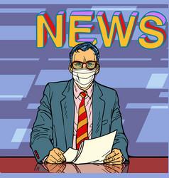 News covid19 coronavirus pandemic vector