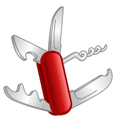 Pocket knife vector