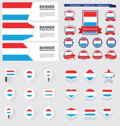 SET luxembourg vector