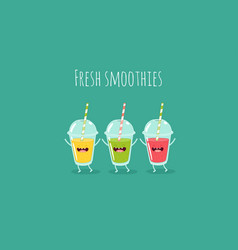 Smoothies vector