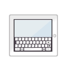 tablet device screen technology electronic icon vector image