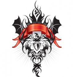 tattoo emblem vector image