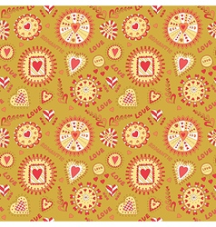 Valentine s Day Seamless Pattern vector