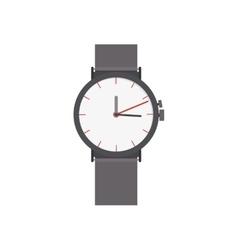 Watch man accessory vector