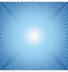 Abstract binary code vector image