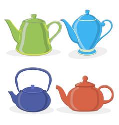 the tea vector image
