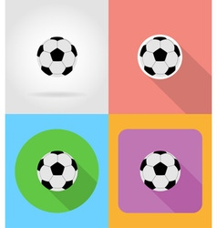 sport flat icons 13 vector image