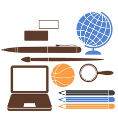 Education School vector image