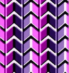 3d drawing zigzag vector