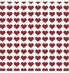 Beautiful heart background design vector
