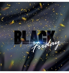 Black Friday sale banner design template vector