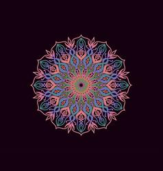 Mandala gradient circle vector