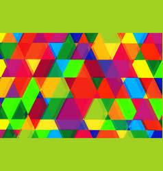 pattern of geometric shapestexture vector image vector image